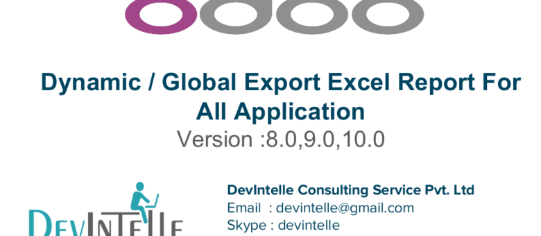 Dynamic export excel in odoo