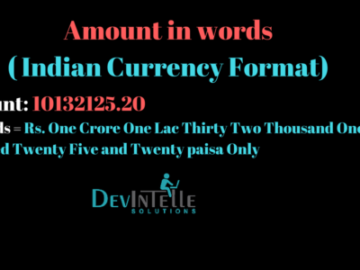 amount in words in odoo (Indian format)