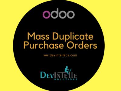 odoo duplicate bulk mass purchase order