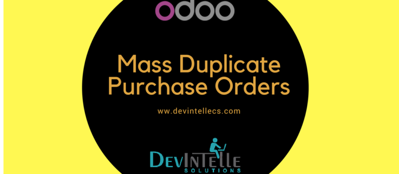 odoo duplicate bulk mass purchase order