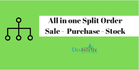 All in one Split - Sale , Purchase , Stock with Odoo Apps